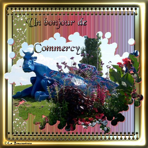 Un bonjour de Commercy